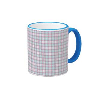 Plaid Coffee Mugs
