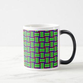 Plaid of color swatches coffee mug
