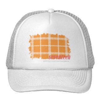 Plaid Orange 3 Cap