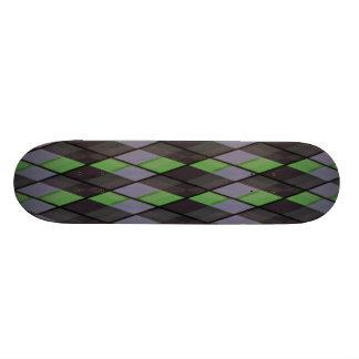 Plaid out 21.6 cm skateboard deck
