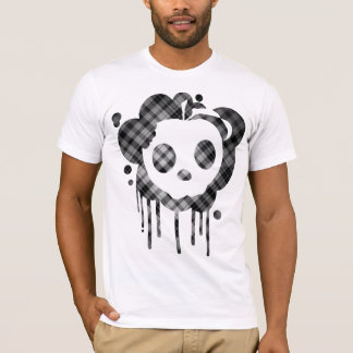 plaid out mellow skull T-Shirt