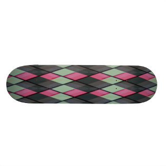 Plaid out skate decks