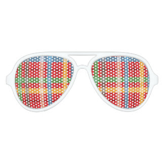 Plaid Party Shades