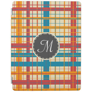 Plaid pattern iPad cover