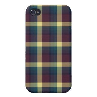 Plaid Pern Fashion  iPhone 4/4S Cases