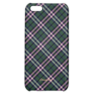 Plaid Pink Green Pattern Savvy Cover For iPhone 5C