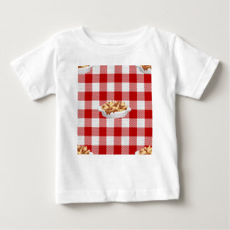 plaid poutine baby T-Shirt
