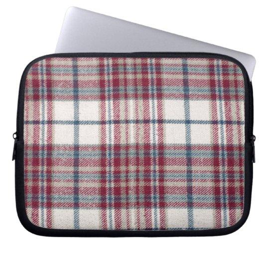 Plaid Shirt / Flannel Shirt pattern Laptop Sleeve