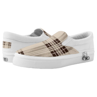 Plaid shoe