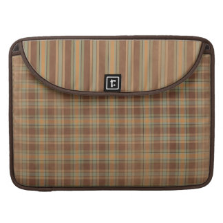 Plaid Stripe Macbook Pro Rickshaw Laptop Sleeve Sleeve For MacBook Pro