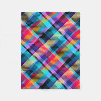 plaid tartan customize checkered fleece blanket