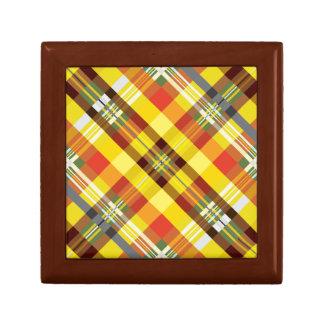 Plaid / Tartan - 'Sunflower' Gift Box