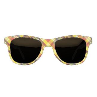 Plaid / Tartan - 'Sunflower' Sunglasses
