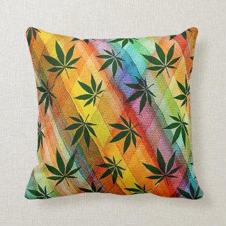 Plaid Weed Cushion
