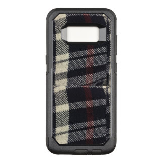 Plaided Fabric Texture OtterBox Galaxy S8 Case