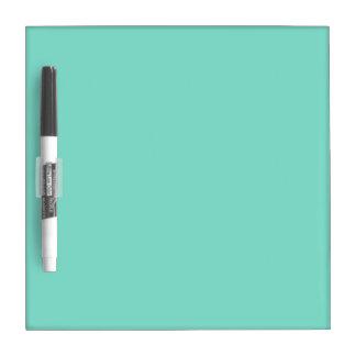 Plain Aqua Blue Dry Erase Board