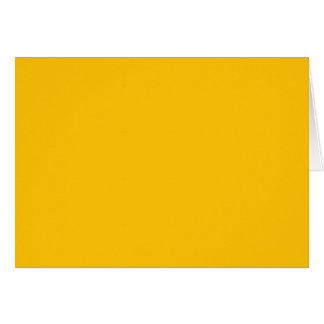 Plain Baja Yellow color Card