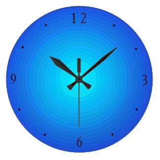 Plain Blue/Aqua > Kitchen Clocks