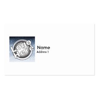 Plain - Business Business Card Template