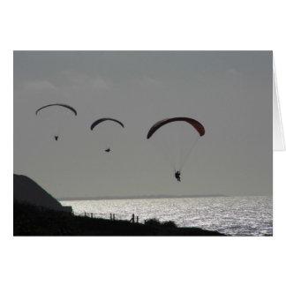 Plain Card - Paraglider