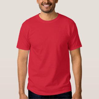 Plain Cardinal Red Mens Basic Dark T-Shirt