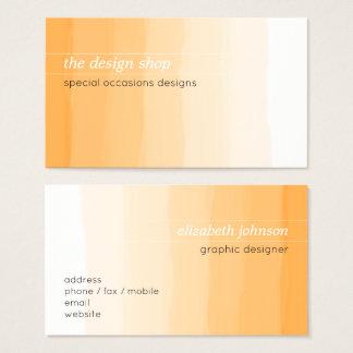 Plain Elegant Simple Orange Watercolor Pastel