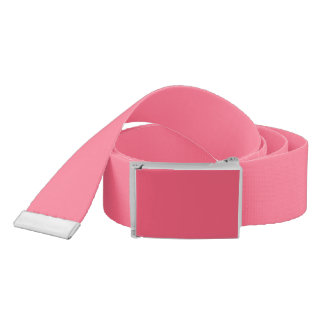 Plain Flamingo Love Hot Pink belt