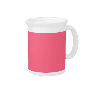 Plain Flamingo Love Hot Pink pitcher