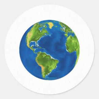 Plain Globe Jesse Tree Sticker