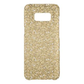 Plain Gold Glitter Pattern Uncommon Samsung Galaxy S8 Case