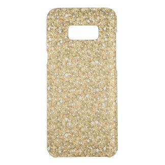 Plain Gold Glitter Uncommon Samsung Galaxy S8 Plus Case