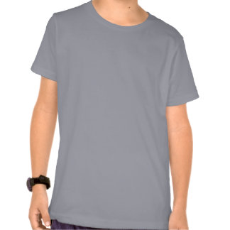 Plain grey american apparel t-shirt for kids