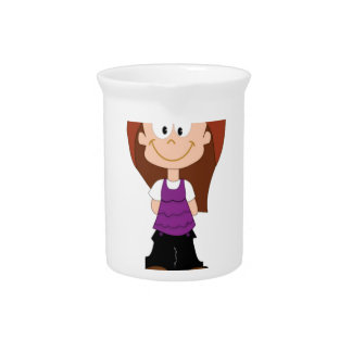 plain jane girl beverage pitcher