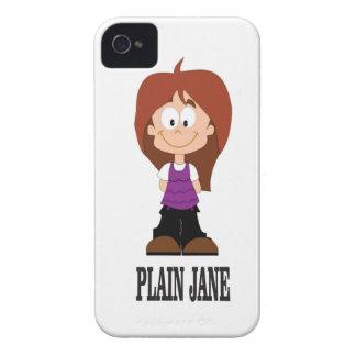 plain jane girl Case-Mate iPhone 4 case