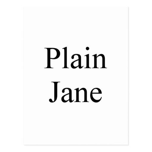 Plain Jane Postcards