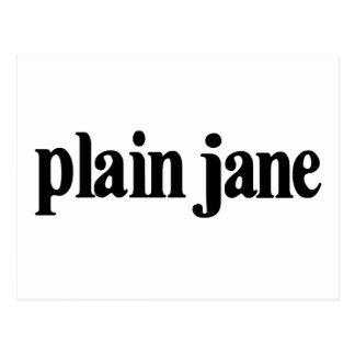 Plain Jane Post Card