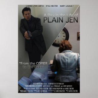 Plain Jen Poster