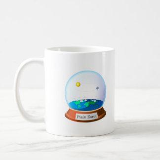 Plain land in a cylindrical mug
