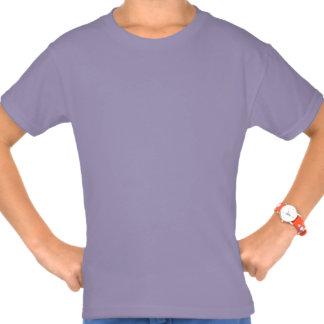 Plain Lavender Girls' Hanes Tagless T-Shirt