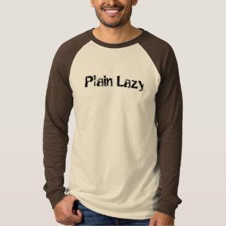 Plain Lazy T-Shirt