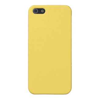 Plain Lemon Zest Yellow iPhone 5 Case