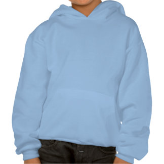 Plain Light Blue Kids' Hanes ComfortBlend® Hoodie