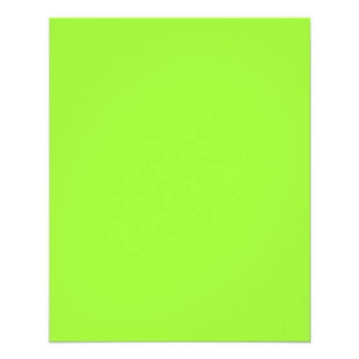 Plain lime green background full color flyer zazzle - Plain green background ...