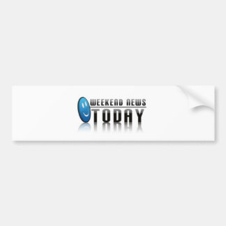 Plain Logo Products Bumper Sticker