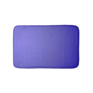 Plain Lotus Blue Bath Mat