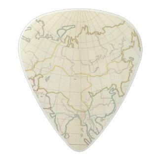 Plain map Asia Acetal Guitar Pick