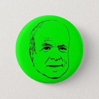 Plain McCain 6 Cm Round Badge