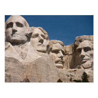 Plain Mount Rushmore National Memorial SD Postcard