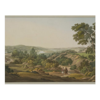 Plain of Olympia, plate 6 from Part 1 of 'Views in Postcard