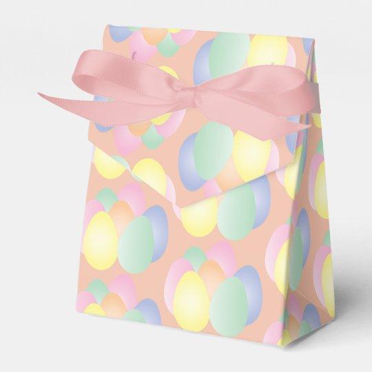 Plain pastel Easter eggs Favour Box
